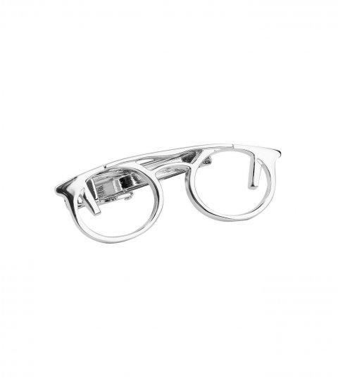 Kravatová spona okuliare