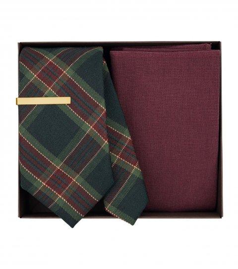 Vánoční kravatová sada