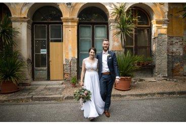 Svadba v pastelových tónoch
