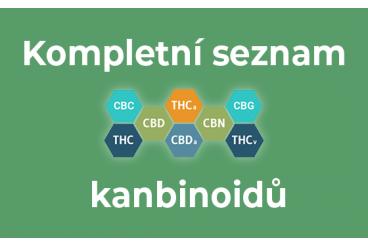 Kompletní seznam všech kanabinoidů