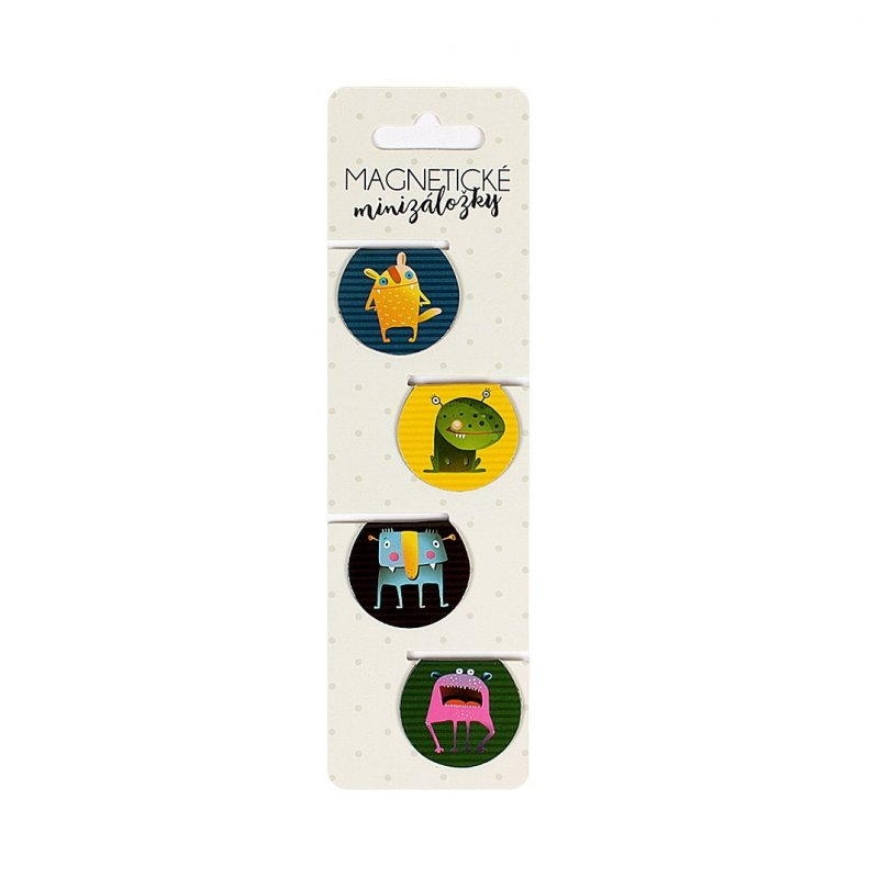 Magn.minizáložka - roztomilá zvířátka