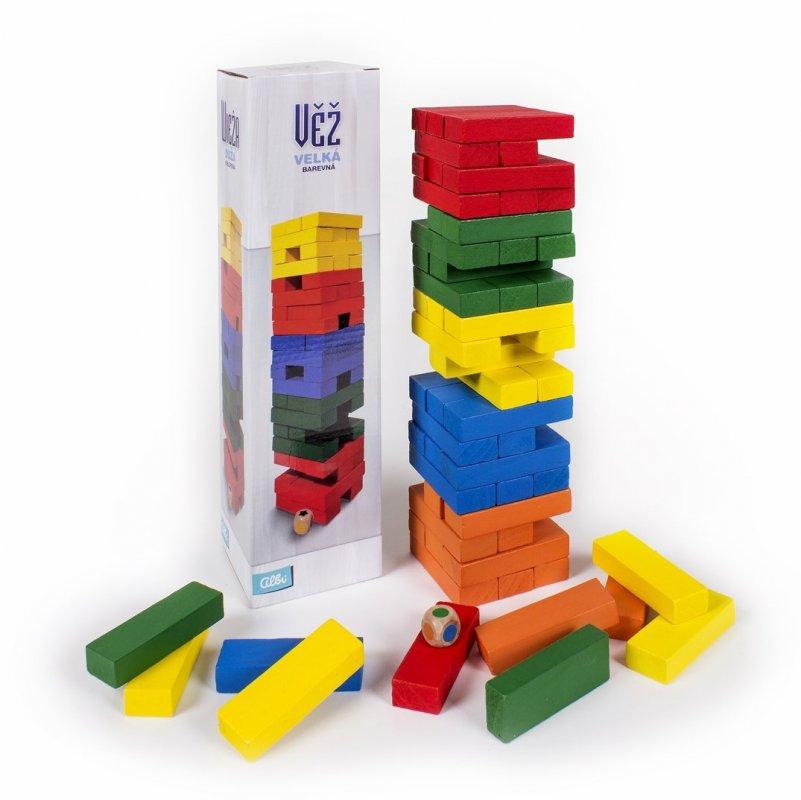 ALBI Velká barevná Věž s kostkou