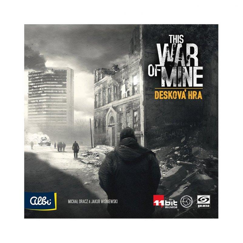 ALBI This War of Mine Desková hra