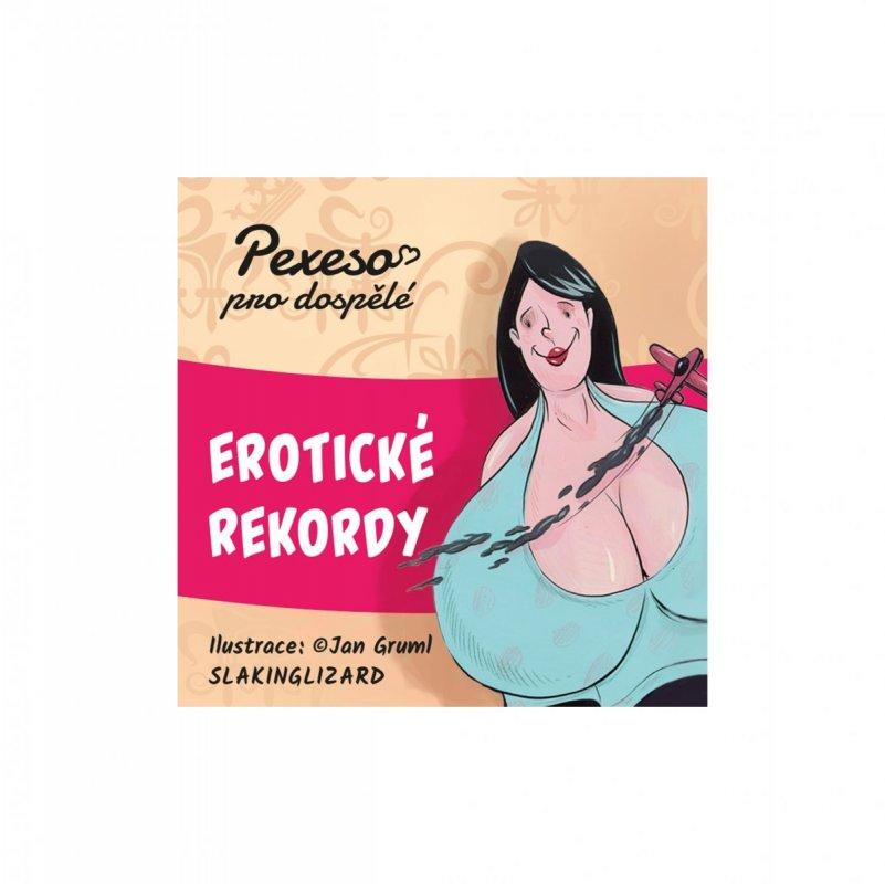 ALBI Hříšné pexeso - Erotické rekordy