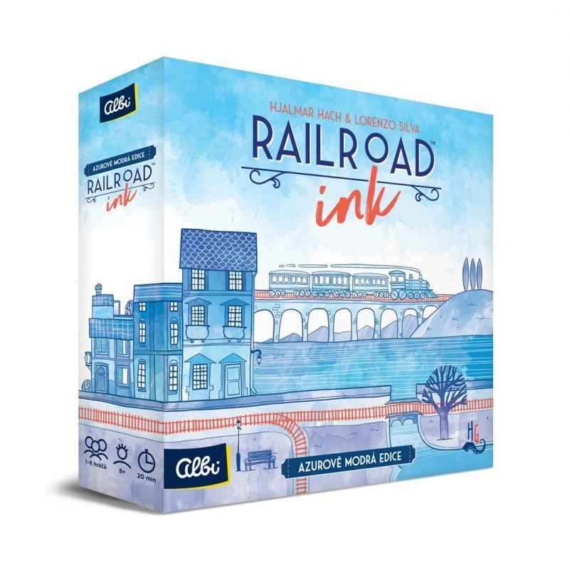 ALBI Railroad Ink - Modrá edice