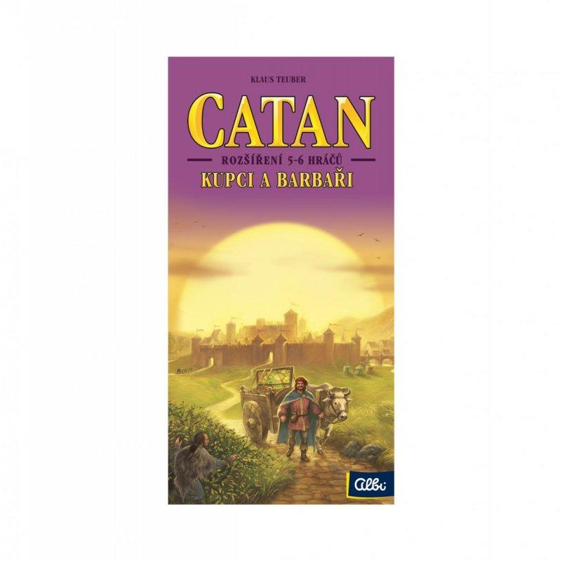 ALBI Catan - Kupci a barbaři 5-6 hráčů