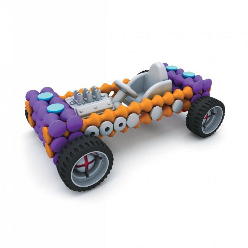 ALBI Kvído - Stavebnice Playstix - vozidla 146 dílků