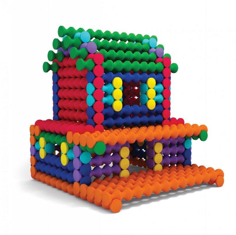 ALBI Kvído - Stavebnice Playstix - domečky 150 dílků