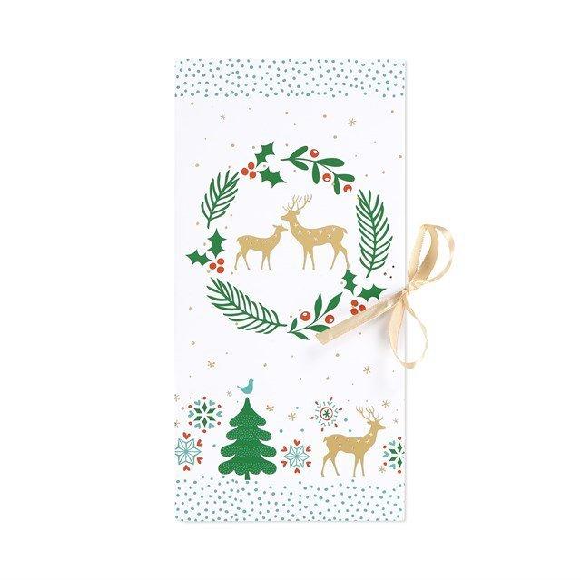 ALBI Dárková krabička - Vánoční bílá