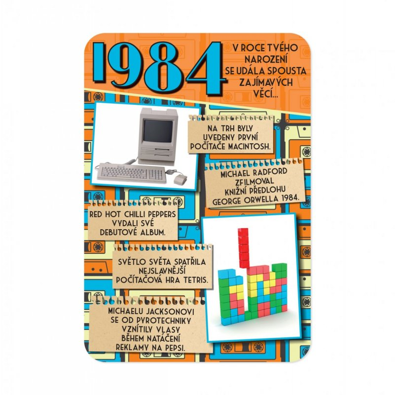 ALBI Retro přání - 1984
