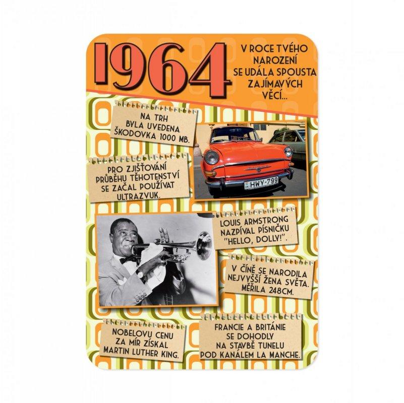 ALBI Retro přání - 1964