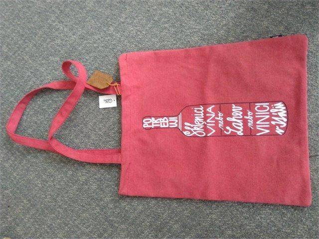 ALBI Plátěná taška - Lahev vína