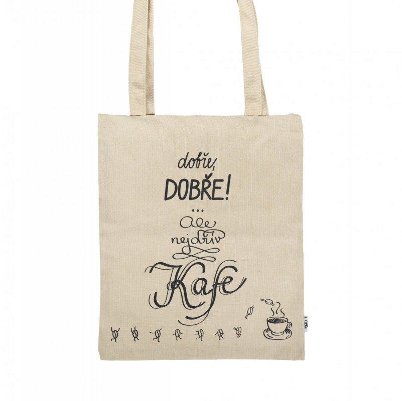 ALBI Plátěná taška - Kafe