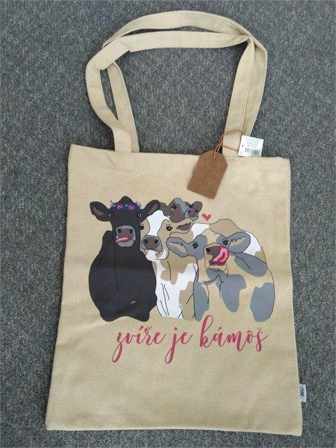 ALBI Plátěná taška - Zvíře je kámoš