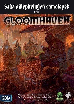 ALBI Gloomhaven odlepitelné samolepky