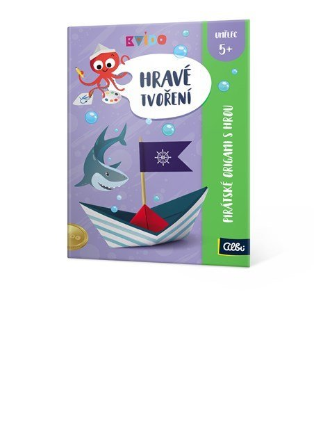ALBI Hravé tvoření - Pirátské origami s hrou