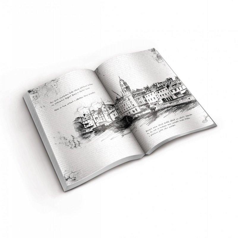 ALBI Kniha EXIT - Lodní deník 1907