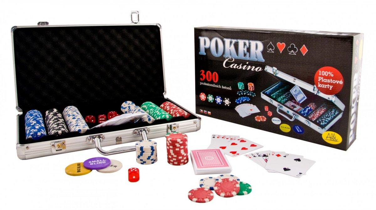 ALBI Poker casino (300 žetonů)