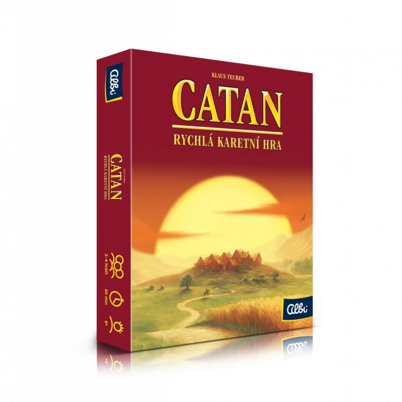 ALBI Catan - rychlá karetní hra