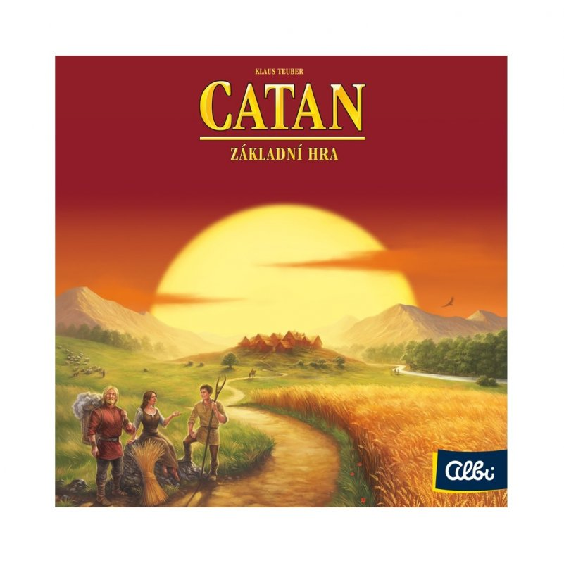 ALBI Catan - Osadníci z Katanu nové