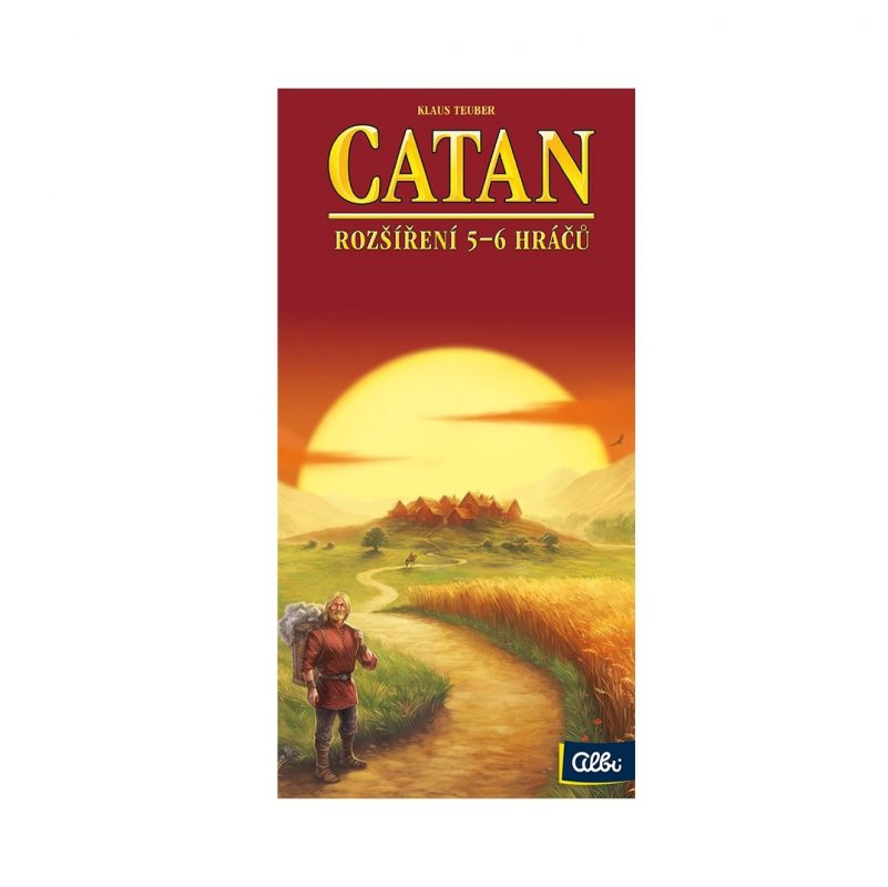 ALBI Catan - rozšíření pro 5-6 hráčů