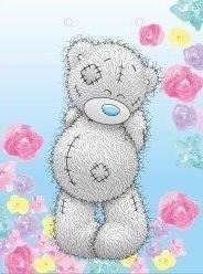 L - Me to you - kreslený medvídek