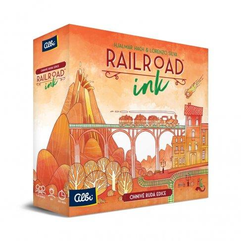 ALBI Railroad Ink - Rudá edice