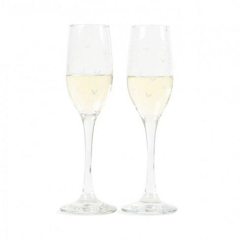 Svatební skleničky na sekt