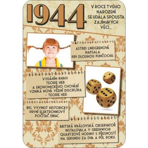 ALBI Retro přání - 1944