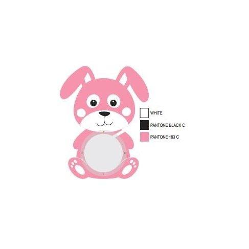 ALBI Pokladnička - Růžový králík