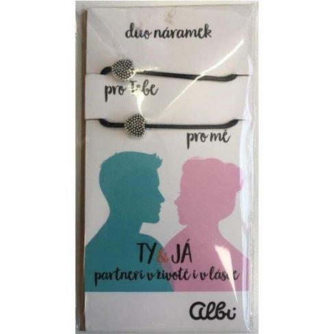 ALBI Duo náramky - Ty & Já