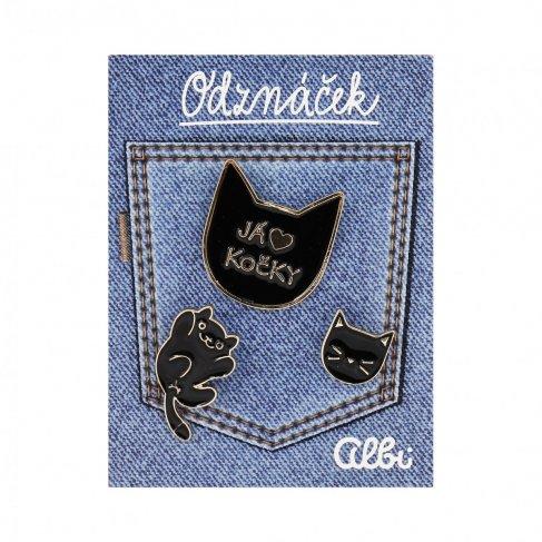 ALBI Odznáček - Kočka