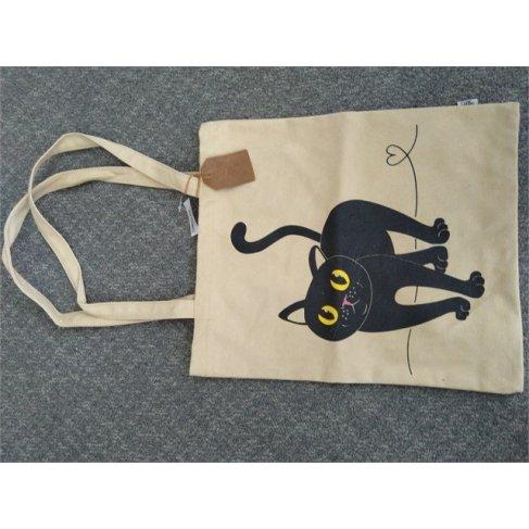 ALBI Plátěná taška - Kočka