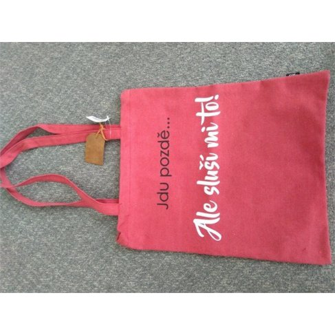 ALBI Plátěná taška - Sluší mi to