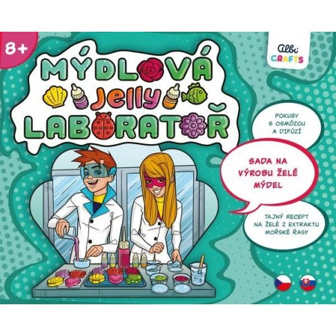 ALBI Mýdlová laboratoř - Jelly