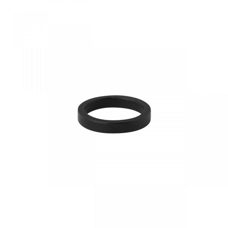 """podložka 1"""" AHEAD 5 mm Al, černá"""