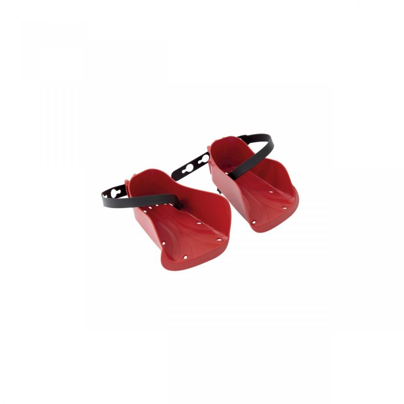 botičky pro zadní sedačky BELLELLI, červené