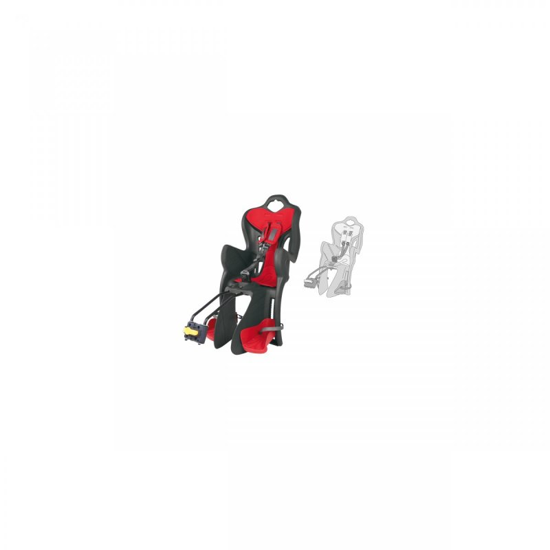 sedačka B-ONE STANDARD zadní šedá/červený