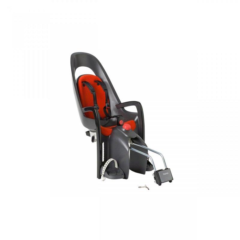 sedačka HAMAX CARESS zadní tmavě šedá/červený