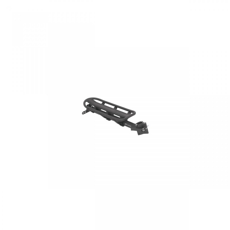 nosič FORCE na sedlovku 25,0 - 31,6 mm Al, černý