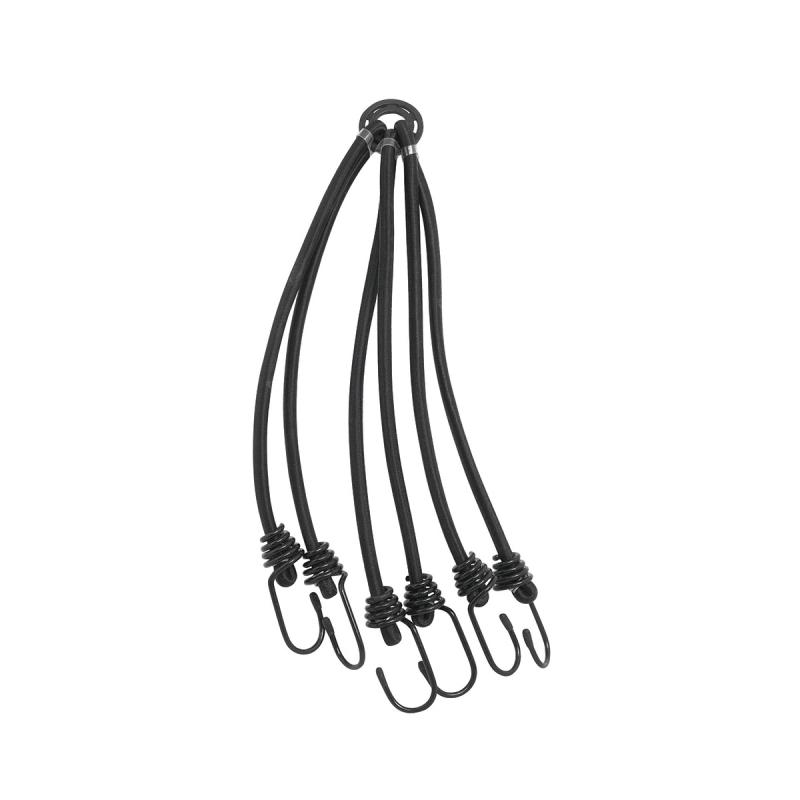 """gumicuk upínací """"pavouk"""" 3 ks, 8 x 600 mm, černý"""