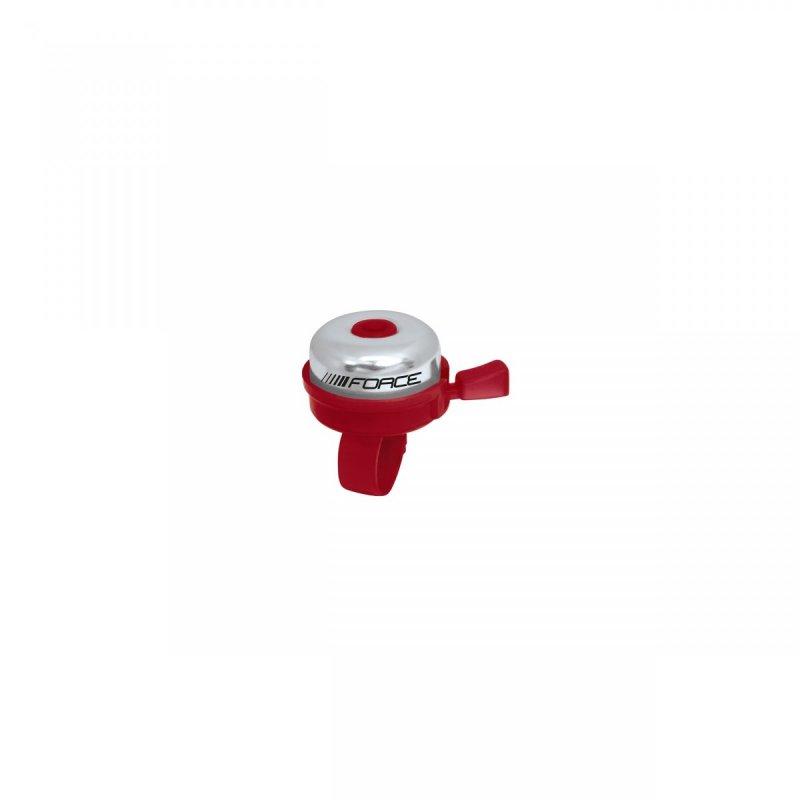 zvonek FORCE KLASIK Fe/plast 22,2mm, červený