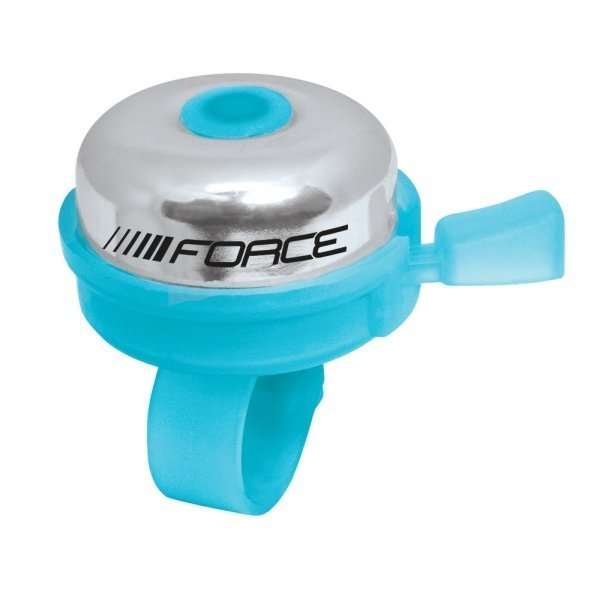 zvonek FORCE KLASIK Fe/plast 22,2mm, modrý
