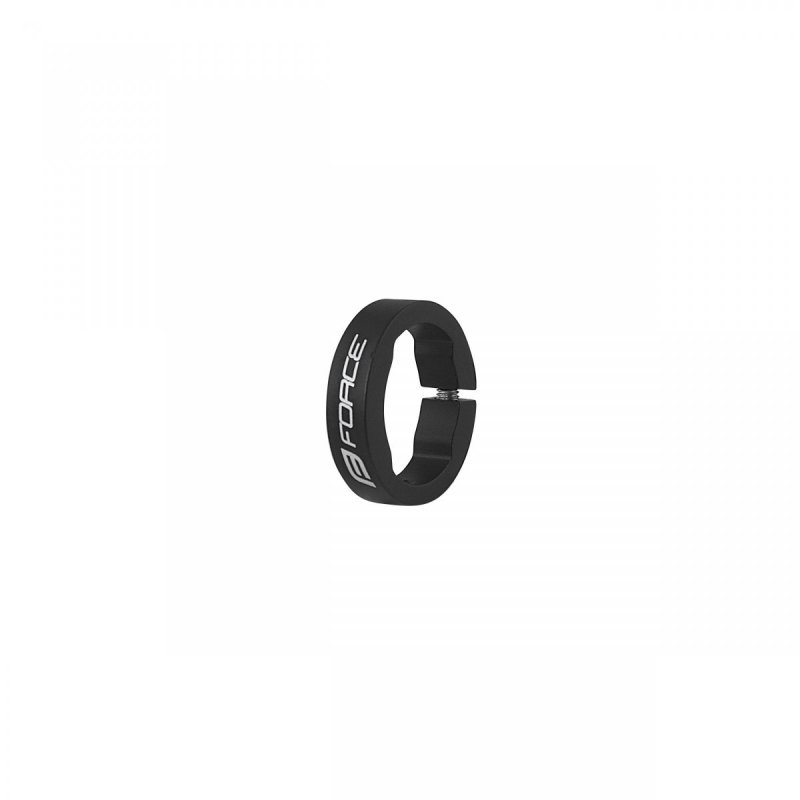 objímka madla FORCE Al otevřená, černá