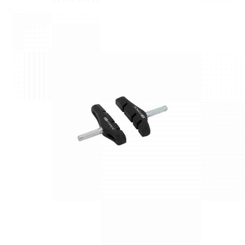 gumičky brzd F čep jednorázové, černé balené 70mm