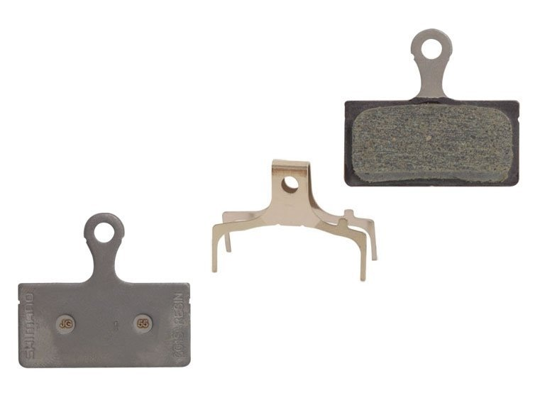 destičky brzdové SH BRM666 polymerové, s pružinou