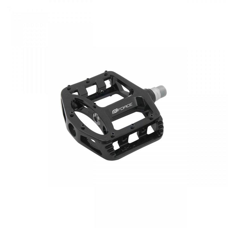 pedály FORCE BMX magnesium výměnné piny, černé
