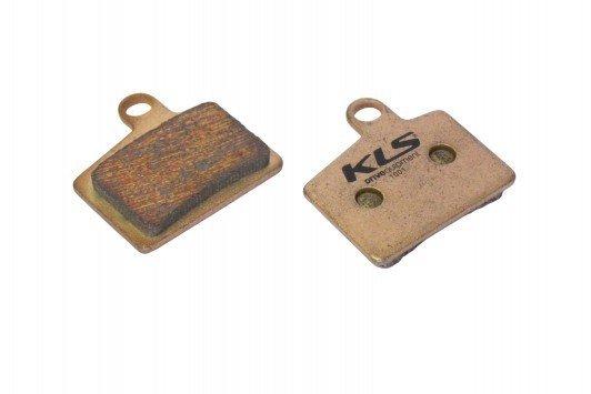 Brzdové destičky KLS D-06S, sintrované (pár)