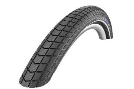 Schwalbe plášť Big Ben 26x2.15 RaceGuard černá+reflexní pruh