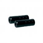 stupačky BMX 38/ 110/ 10mm pár Fe, černé
